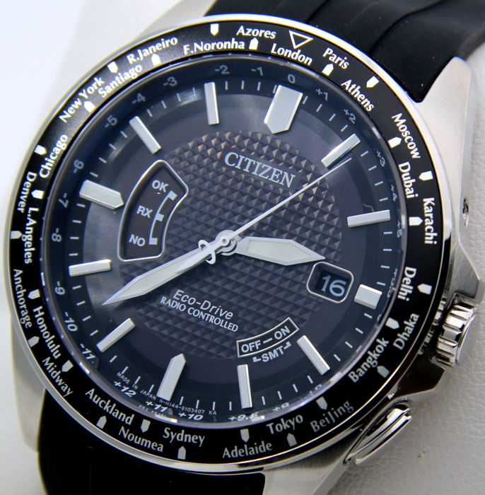 Citizen - Eco Drive Radiocontrolled Atomic Watch - New - Heren - 2011-heden