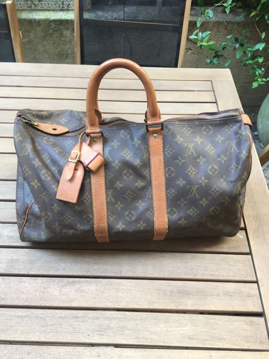 Louis Vuitton - Keepall 45 Sac de voyage - Vintage