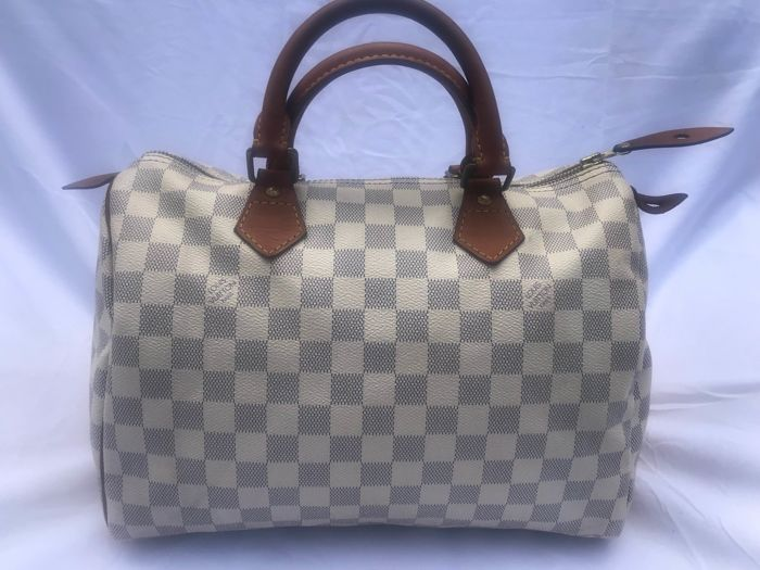Louis Vuitton Speedy 30 chequerboard bag