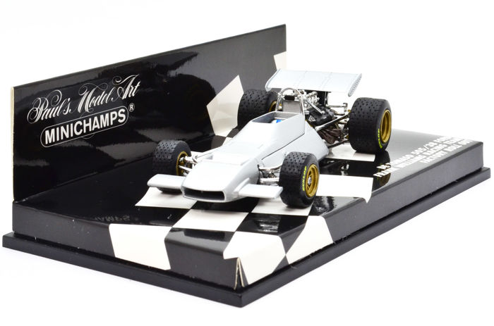 MiniChamps - 1:43 - De Tomaso 505/38 Ford Frank Williams Racing Team Factory Roll Out