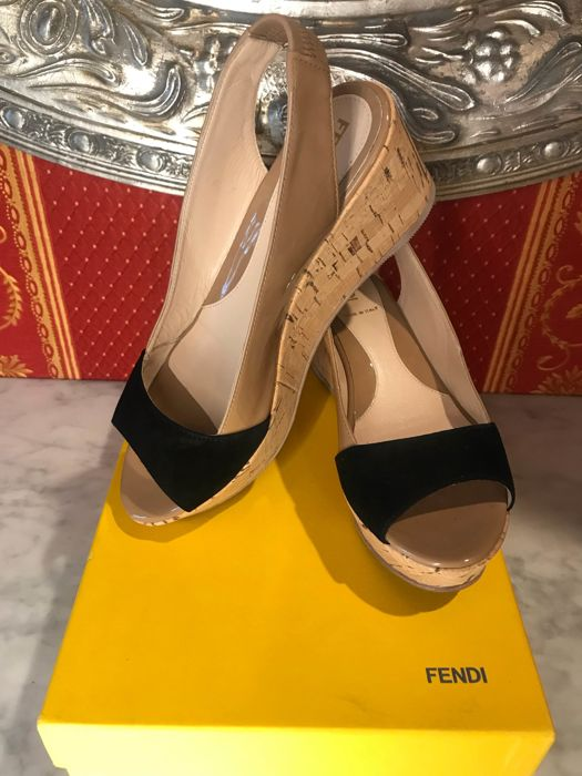 4fb16799d8 Fendi - wedge sandals - Catawiki