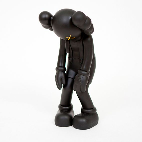 Kaws - Companion - Small Lie (Black)