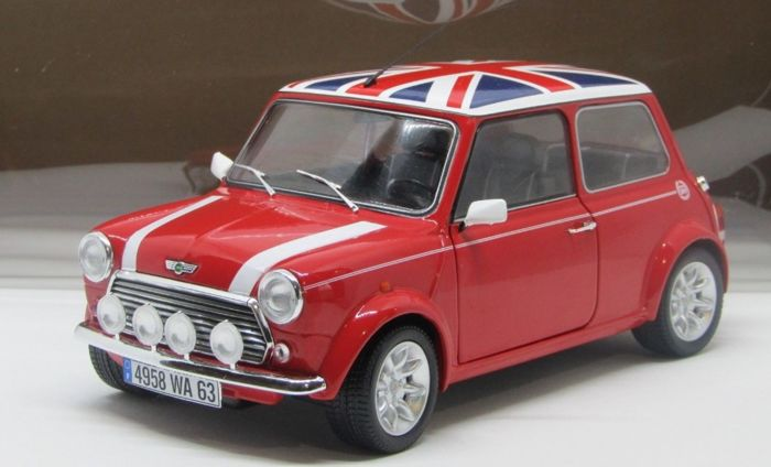 solido 1 18 mini cooper 1 3 sports pack with the british flag union jack catawiki. Black Bedroom Furniture Sets. Home Design Ideas