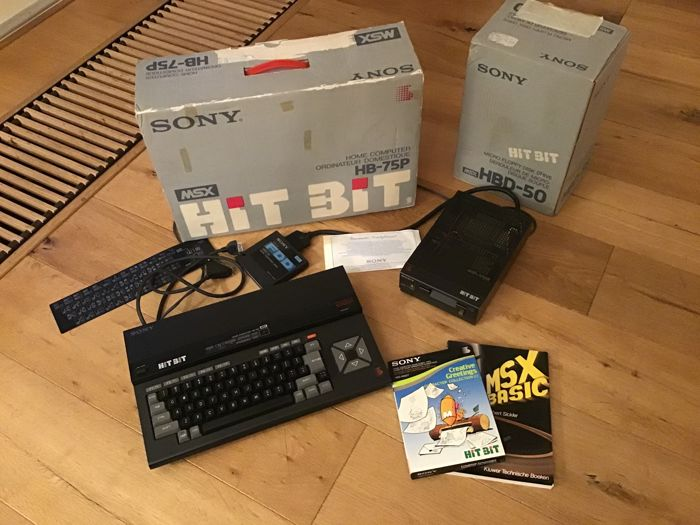 Sony HITBIT home computer HB-75P