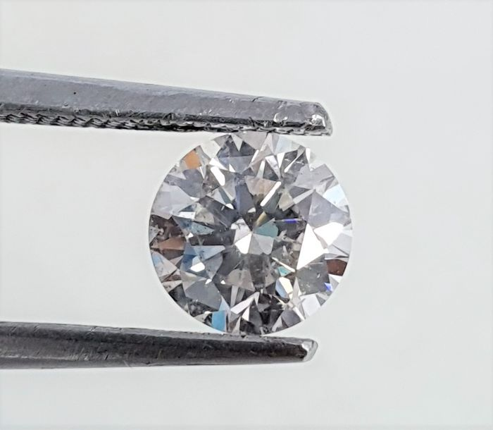 Diamond - 0.74 ct - Briliáns - H - VS2