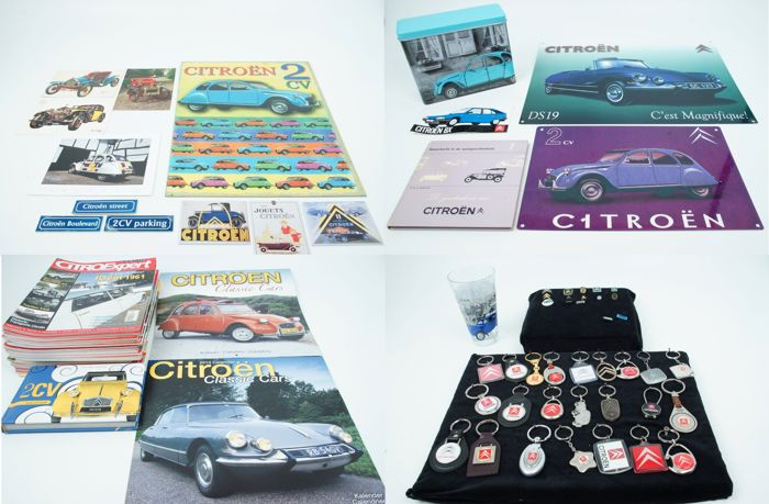 Decoratief object - Citroën merchandise - 2000 (82 items)