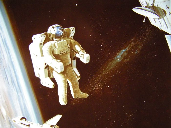"Manned Maneuvering Unit NASA - Foto's en info  ""space scooter"" 1978-1983"