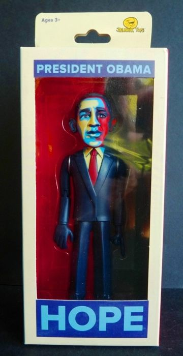 Figurine OBAMA Collector 2008 - ' Hope ' ( Shepard Fairey (after)  ) - Numbered