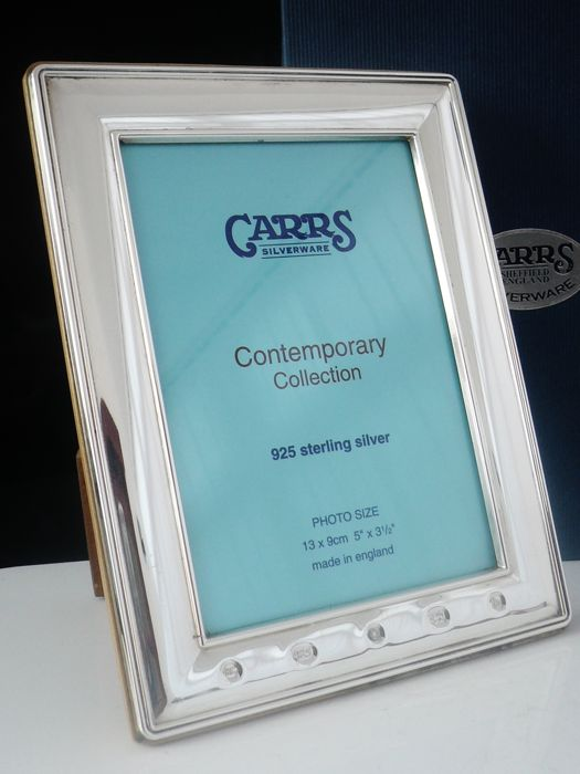 Boxed Silver Photograph Frame, Sheffield 2001, Carr's of Sheffield Ltd