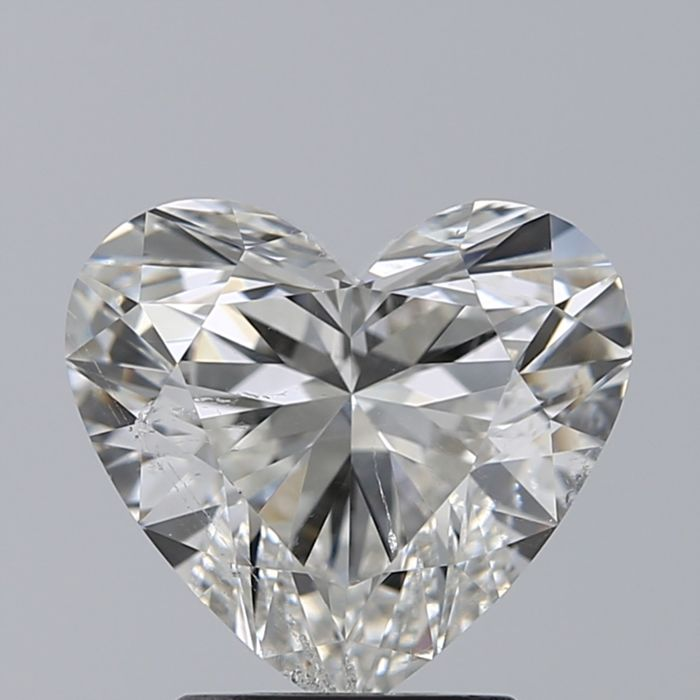 0.90ct Heart Brilliant Diamond F SI2 with GIA  - #2953