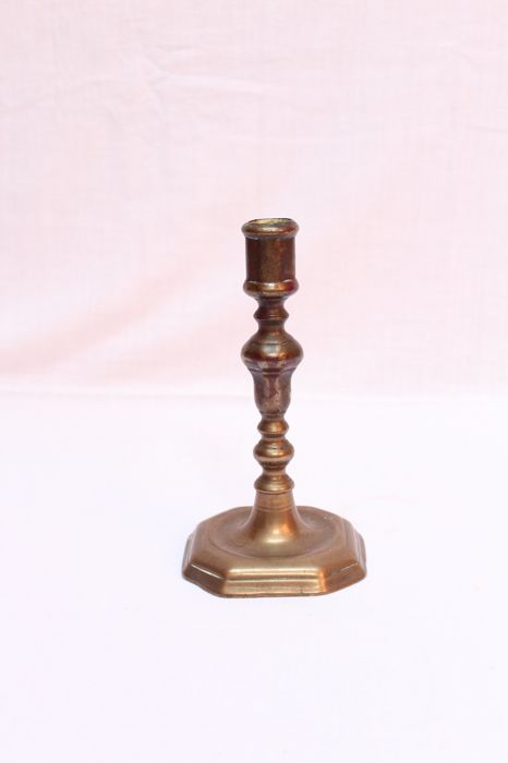 bronze candlestick, France, 19th century