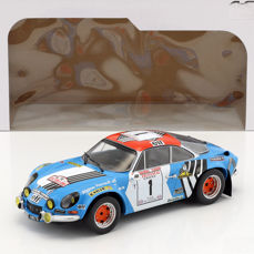 Solido - 1:18 - Alpine A110 1800 Tour de Corse #1 1973 - Quantities produced: 2.000 pcs.