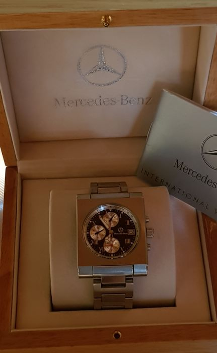MERCEDES-BENZ Formula 1 watch/box - Chronograph watch for men - 2006