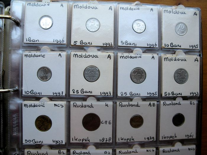 Europe Est Collection Various Coins Type Collection 17842005