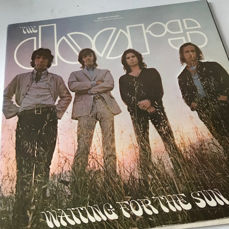 The Doors - Waiting For The Sun - Holland Elektra 1968 original black/silver label 11-track LP