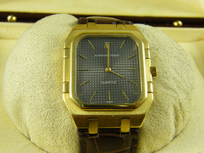 Audemars Piguet - Royal Oak Rectangular - 6005BA - Men - 1980-1989