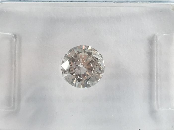 Diamant in Brillant 0,52 Ct. G  I2 mit IGI  Zertifikat