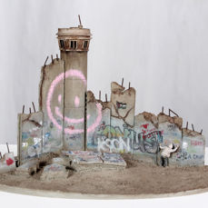 Banksy x Walled Off Hotel - Defeated Souvenir
