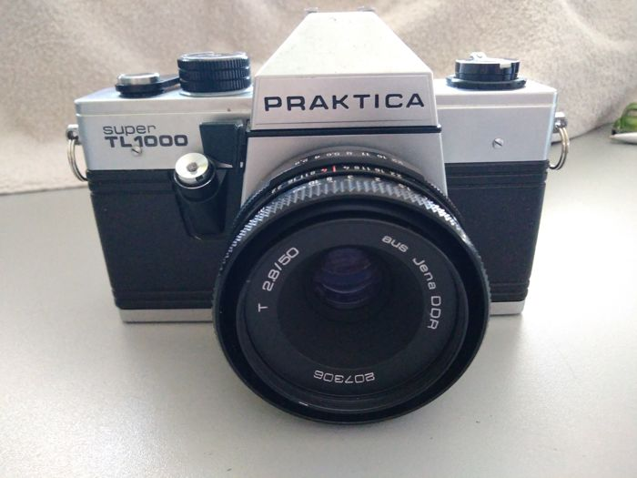 Praktica super tl kamera body gehäuse slr kamera amazon