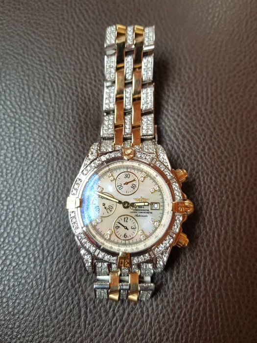 Breitling - Chronomat Evolution Diamants - Ref. B13356 - Homem - 2011-presente