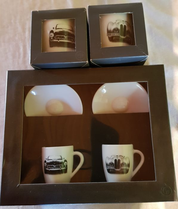 Lot Coffret/Expresso BMW - Mugs BMW - 328 Roadster/507 Roadster - 2008