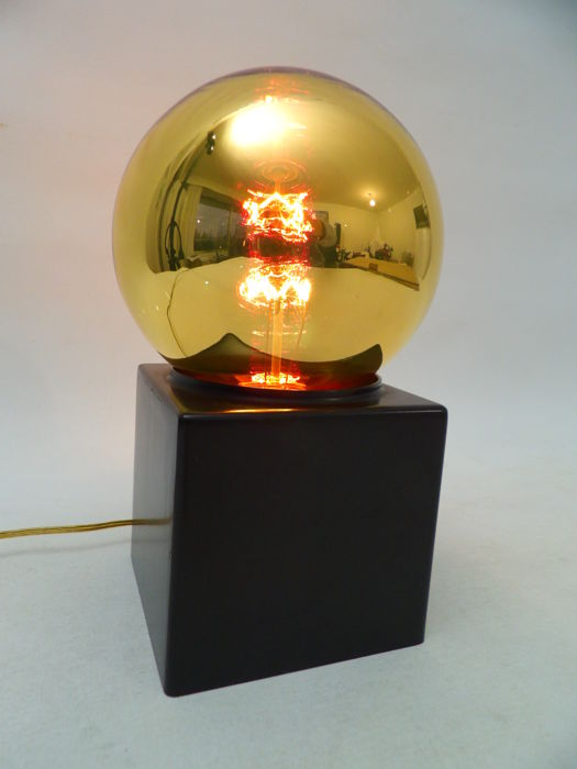 Philips - Vintage gold sphere lamp - table lamp - wall lamp