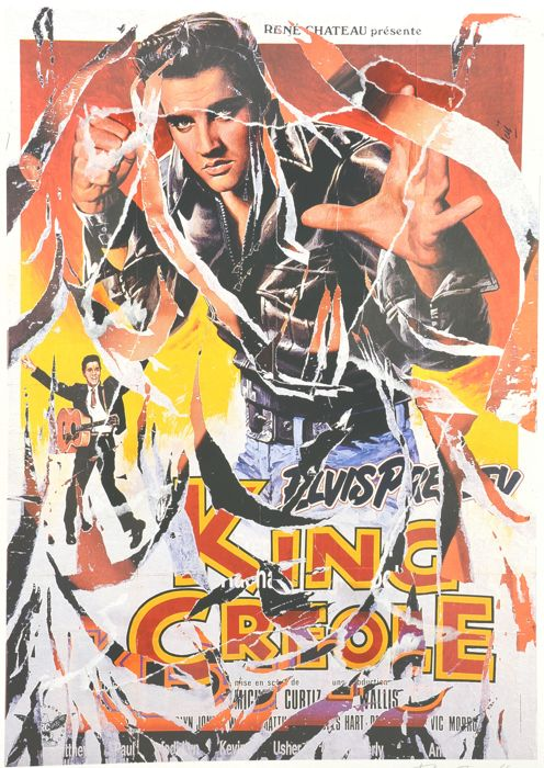 Mimmo Rotella - King Creole