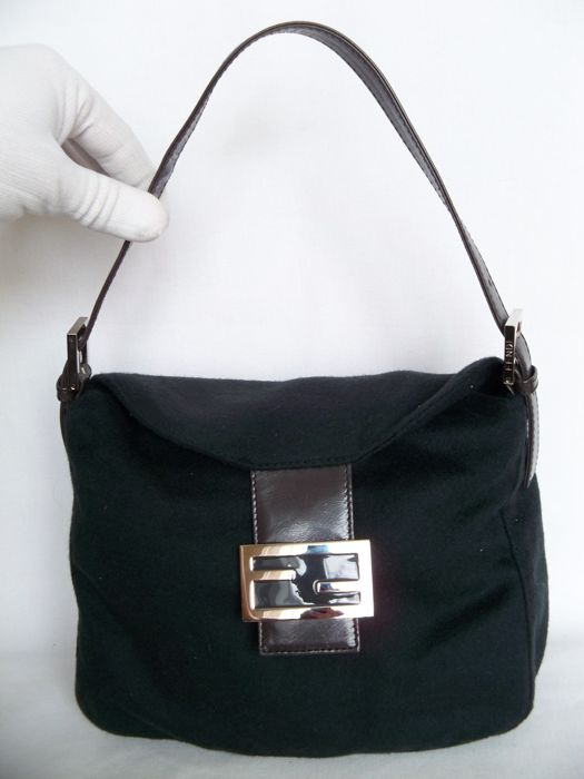 Fendi - Cashmere Handbag/Shoulderbag  -*No Reserve Price!*