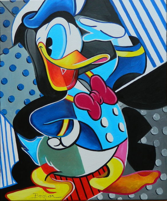 Sage (Brisan, Gabriel) - Oil painting on Canvas - Happy Duck - (2018)
