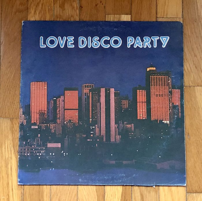 """Blue Note Orchestra – """"Love Disco Party"""" Rare Italian Red Vinyl release 1979"""