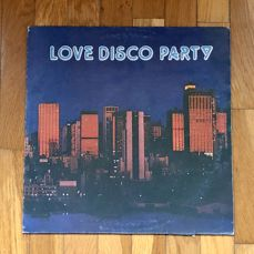 "Blue Note Orchestra ‎– ""Love Disco Party"" Rare Italian Red Vinyl release 1979"