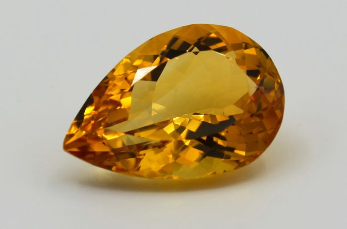 Citrine - Yellow - 14.64 ct