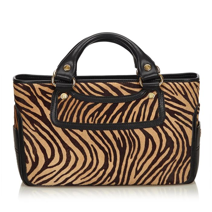 Celine - Tiger Print Pony Hair Boogie