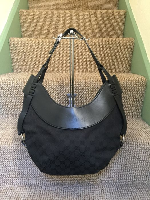 fe09ea97d195 Gucci - Crescent Hobo Shoulder bag - Catawiki