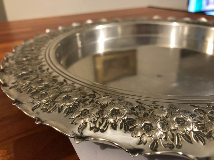 Antique Tray silver plate