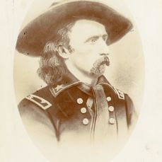 David Francis Barry (1854-1934) - General George Armstrong Custer, C.1870