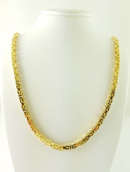Byzantine chain - 585 yellow gold - 79.50 cm - 59.73 g