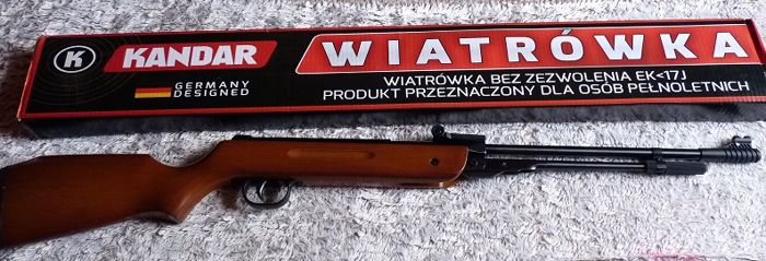 Pellet air rifle KANDAR B3-3, 17 joules