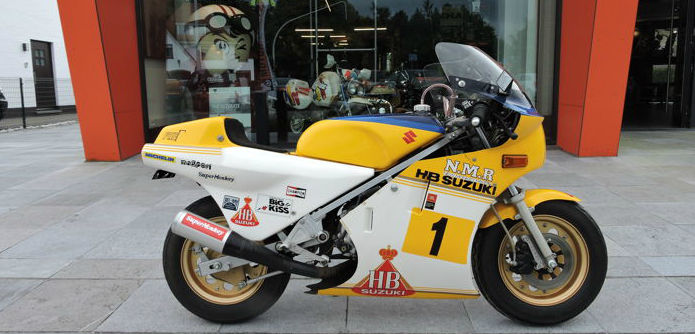 Honda - NMR Super Monkey - Suzuki RG 500 - New Monkey Racing - ONE OF A KIND - 49 cc - 1980