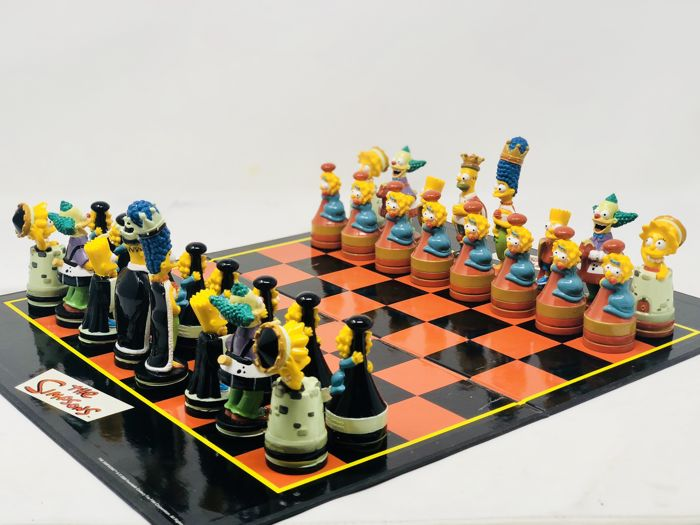 United LabelS - The Simpsons Chess - Composite