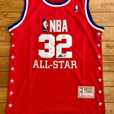 Magic Johnson (HOF) Signed NBA 1989 All-Star Game Jersey