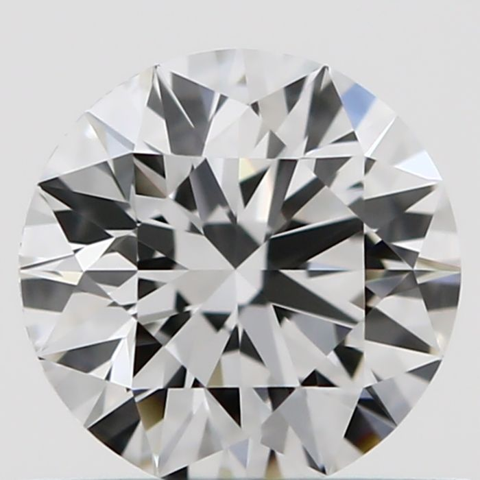 GIA certified and engraved rare round (D colour, IF clarity) diamond weighing 0.50 ct