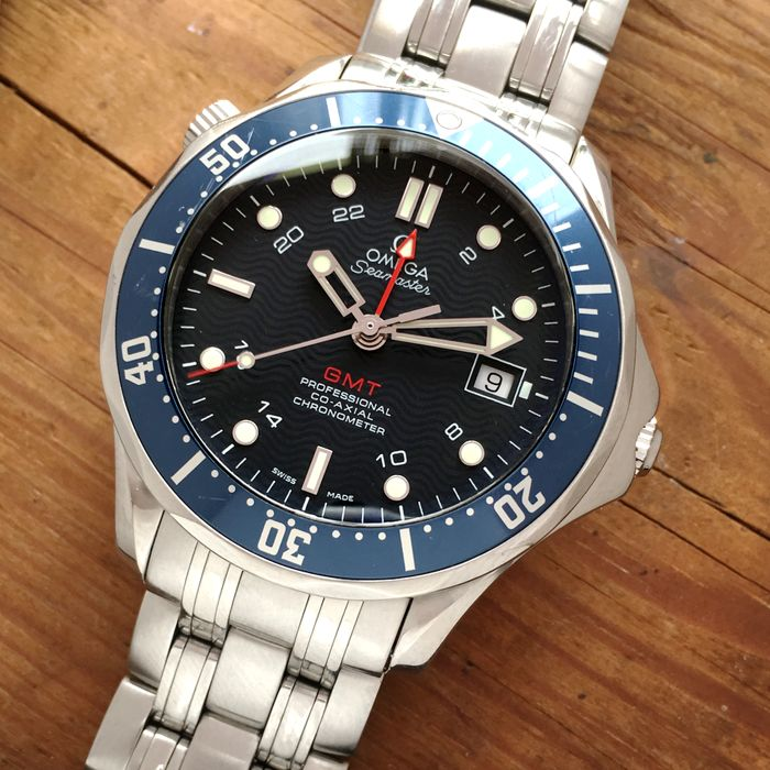 Omega - Co-Axial GMT Seamaster Professional 300m  - 25358000 - 男士 - 2000-2010