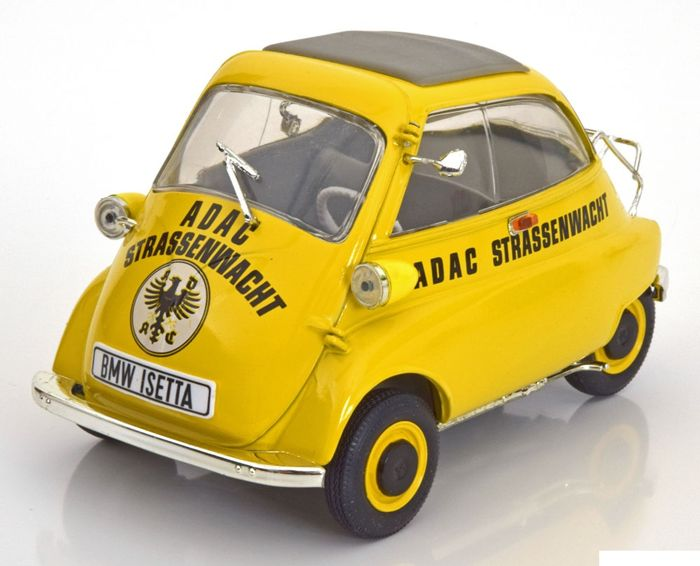 revell 1 18 revell bmw isetta 250 adac strassenwacht. Black Bedroom Furniture Sets. Home Design Ideas