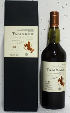 Talisker 20 years old - extremly rare