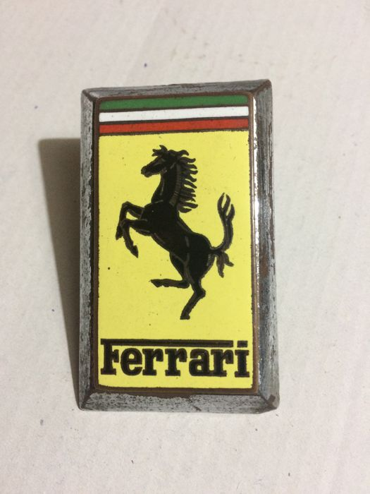 Badge - Ferrari 250GT.  reputed from the first 250GT   - 1954-1954 (1 items)