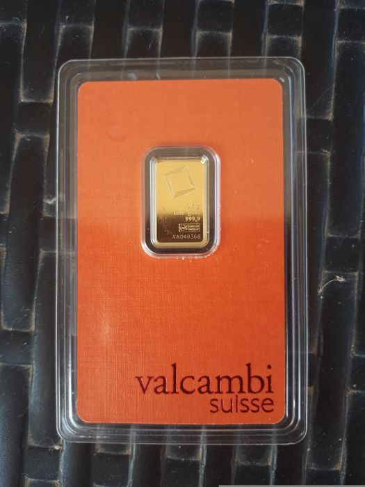 Valcambi - 2.5 g - 999.9 - Minted / Sealed