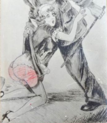 Vintage; Lot with 24 cards of erotic pictures - 1930/1940