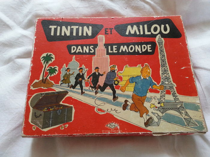 tintin jeu de soci t noel montbrison tintin et milou. Black Bedroom Furniture Sets. Home Design Ideas