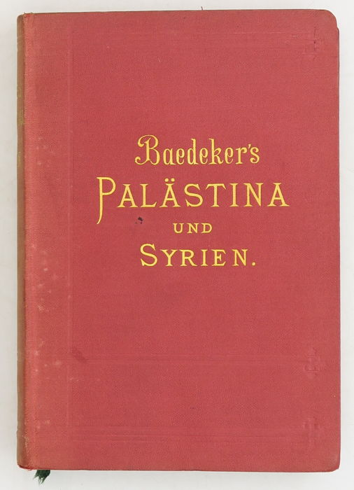 Image result for Palaestina Baedeker